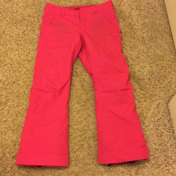 Burton Other - Burton pink snow pants